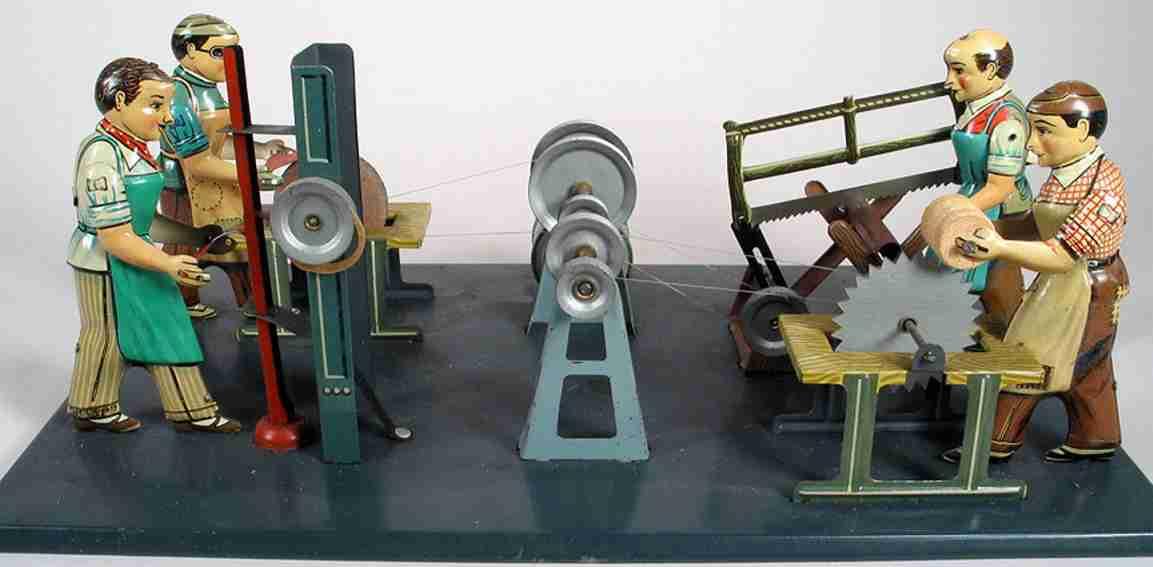 arnold dampfspielzeug antriebsmodell werkstatt mit 4 antriebsmodellen mit je einer figur die 11,2
