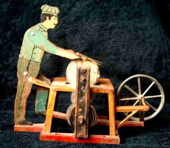 arnold 502/1 dampfspielzeug antriebsmodell scherenschleifer funken
