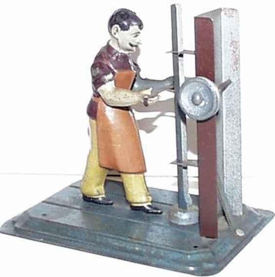 Arnold Antriebsmodell Dampframme 1. Version