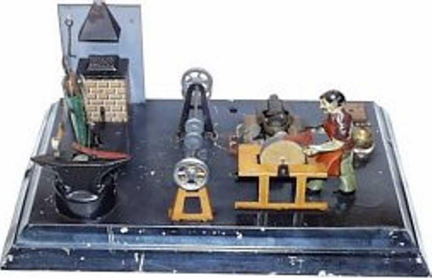 arnold dampfspielzeug antriebsmodell maschinenwerkstatt schmiede