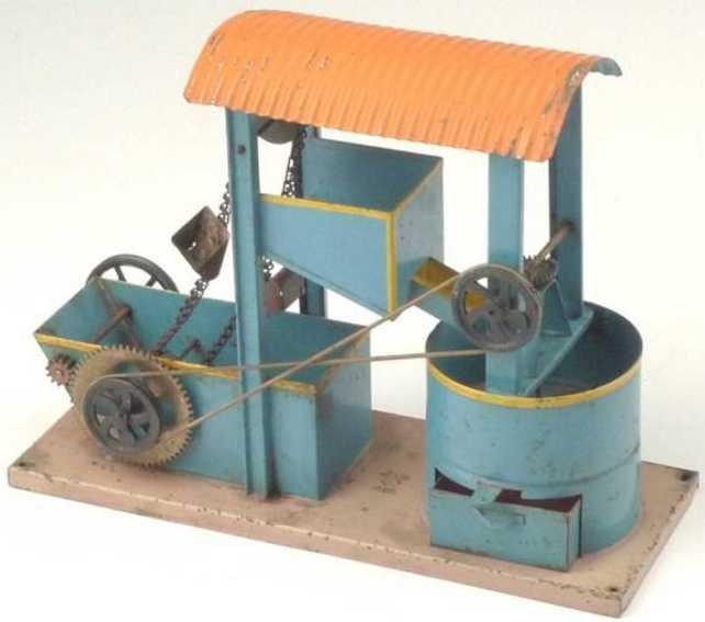 bing 10/2143 dampfspielzeug antriebsmodell betonmischer