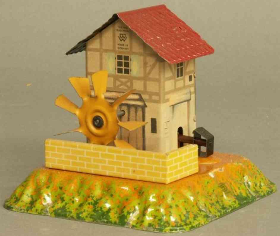 Bing 10/22 Antriebsmodell Wassermühle mit Hammerwerk