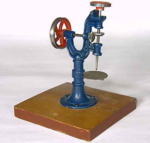 bing 10/233 dampfspielzeug antriebsmodell bohrmaschine