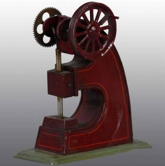 bing 10/288 dampfspielzeug antriebsmodell presse