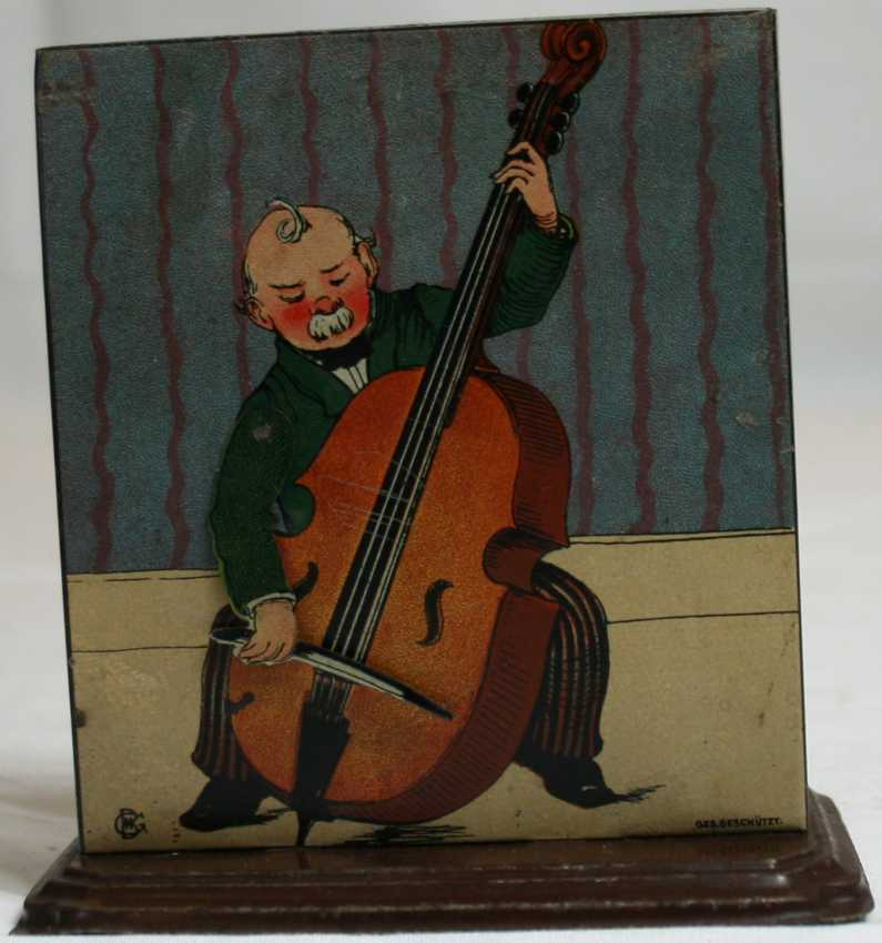 bing 8743/11 steam toy drive model musician with bass