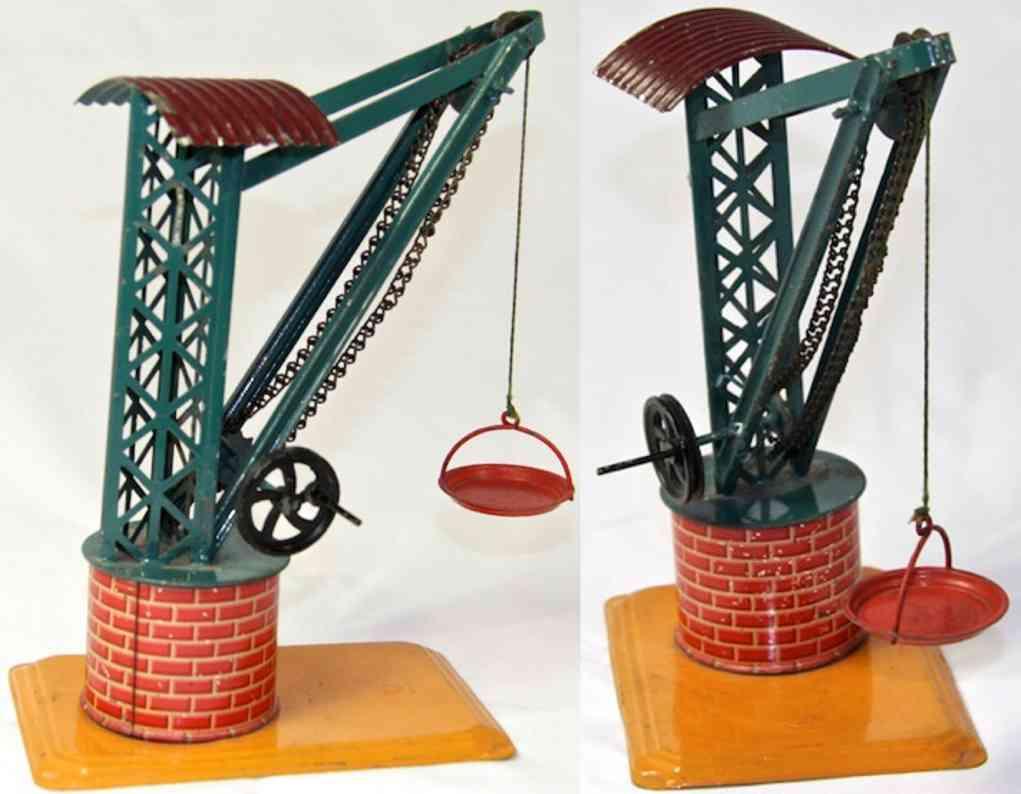 bing 8856/299 steam toy drive model crane