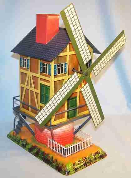 bing 9956/421 steam toy drive model windmill