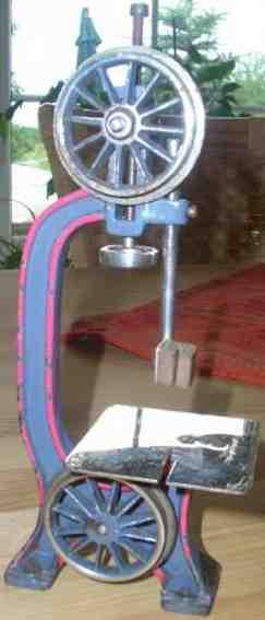 bing 9956/195 steam toy drive model bandsaw
