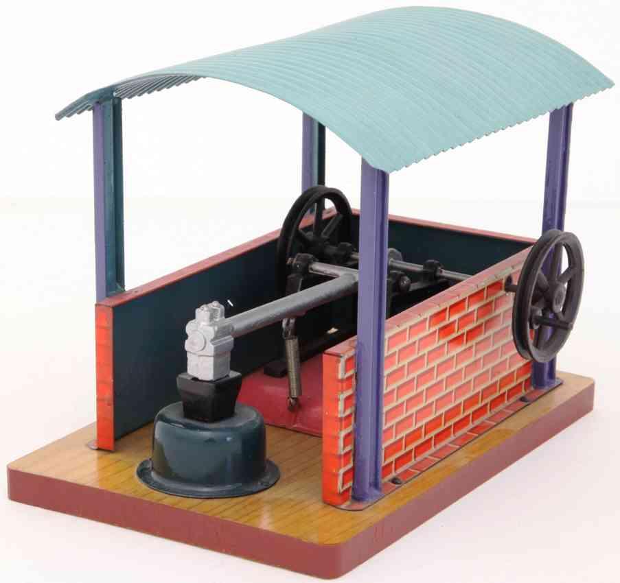 bing 9956/285 steam toy drive model trip hammer