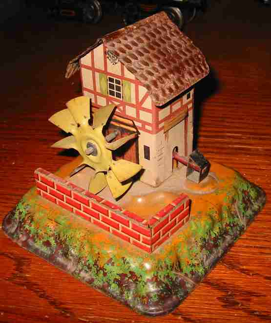 bing 9956/319 steam toy drive model trip hammer work with watermill