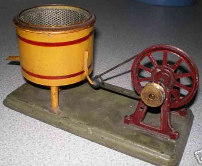 bing 9956/329 steam toy drive model churn with barrel