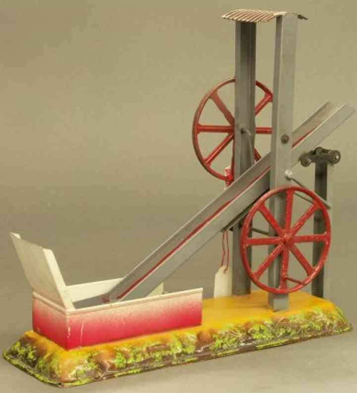 bing 9956/337 steam toy drive model digger work