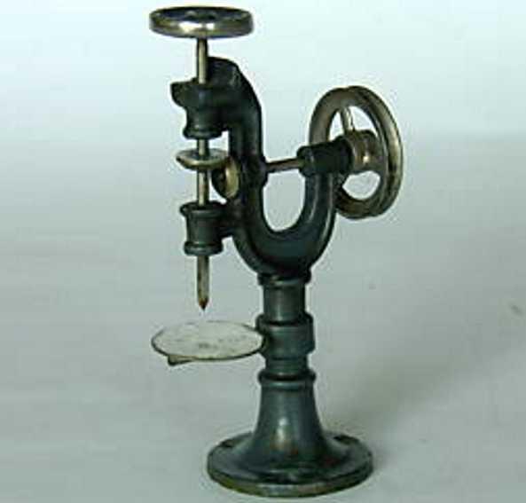 bing 9956/45 dampfspielzeug antriebsmodell bohrmaschine