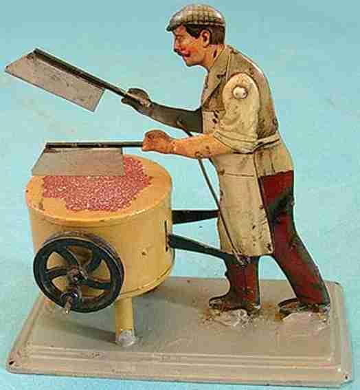 Bing 10/27 Antriebsmodell Fleischer mit 2 großen Messern