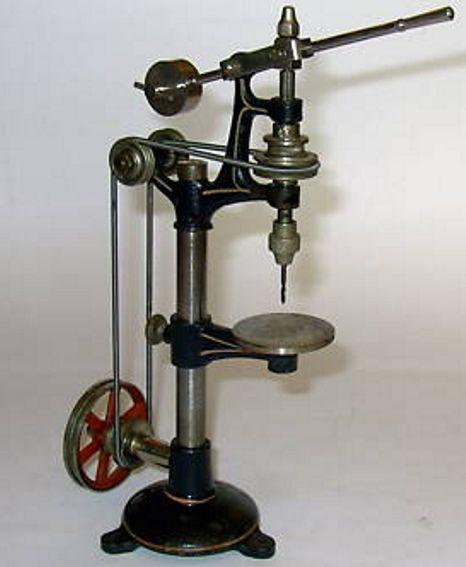 bing 9956/439 dampfspielzeug antriebsmodell bohrmaschine