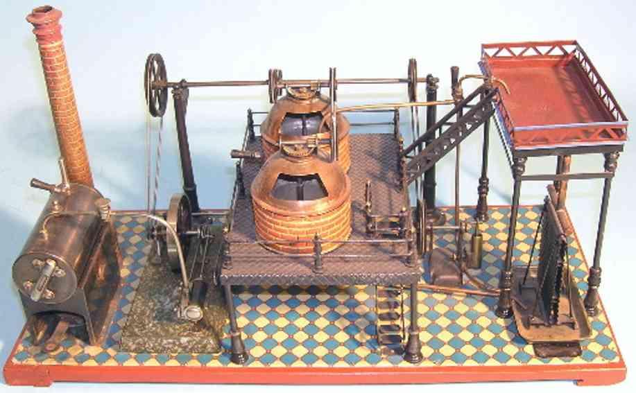 bing 14139 dampfspielzeug antriebsmodell brauerei