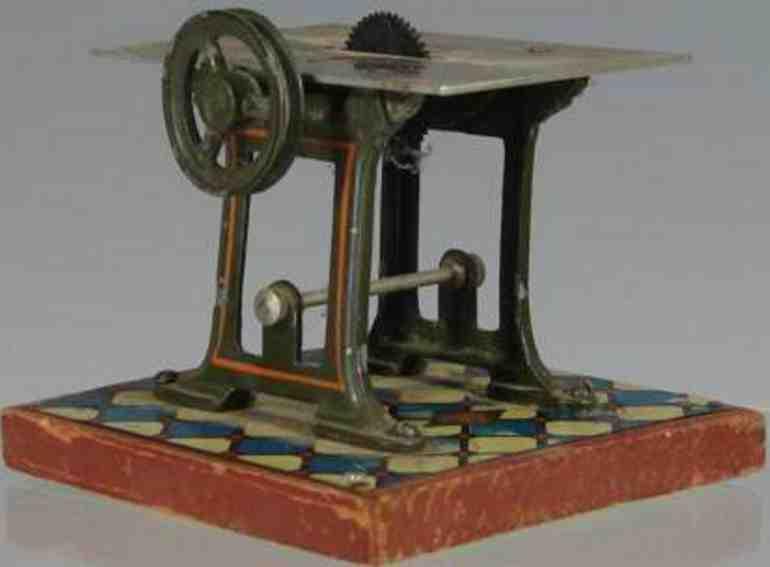 bing 9956/227 steam toy drive model circular saw