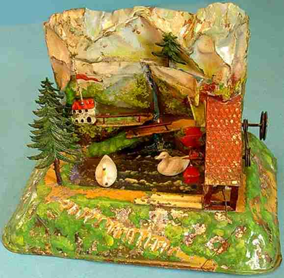 bing 9956/185 steam toy drive model mountain mill