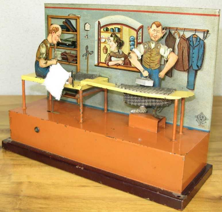 bing 9956/378 steam toy drive model tailor's workroom