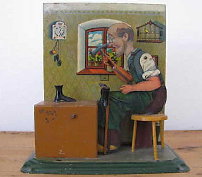 bing 9956/476 steam toy drive model shoemaker