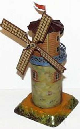bing 9956/229 steam toy drive model musical windmill