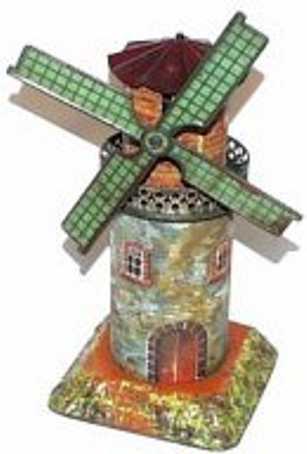bing 9956/381 steam toy drive model  windmill