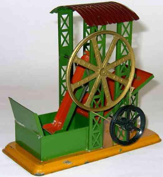 bing 10/284 dampfspielzeug antriebsmodell baggerwerk