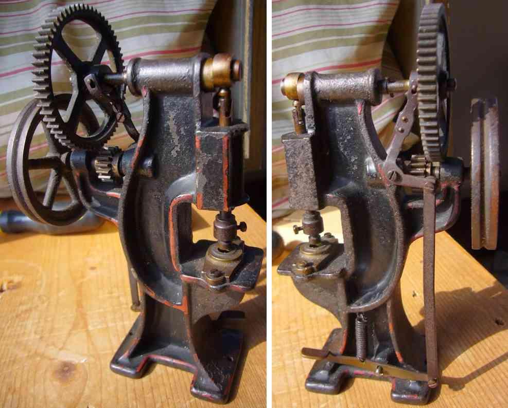 bing 9956/240 dampfspielzeug antriebsmodell schmiedehammer