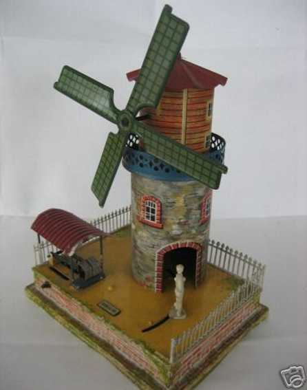 Bing 10/280 Antriebsmodell Windmühle mit Müller