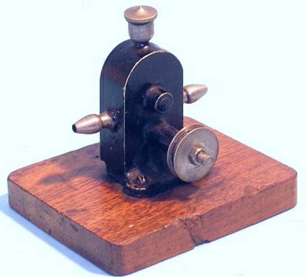 carette 57/6 steam toy drive model suction pump force pump brass casting