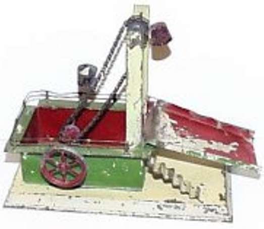 carette 697/16 steam toy drive model dredger