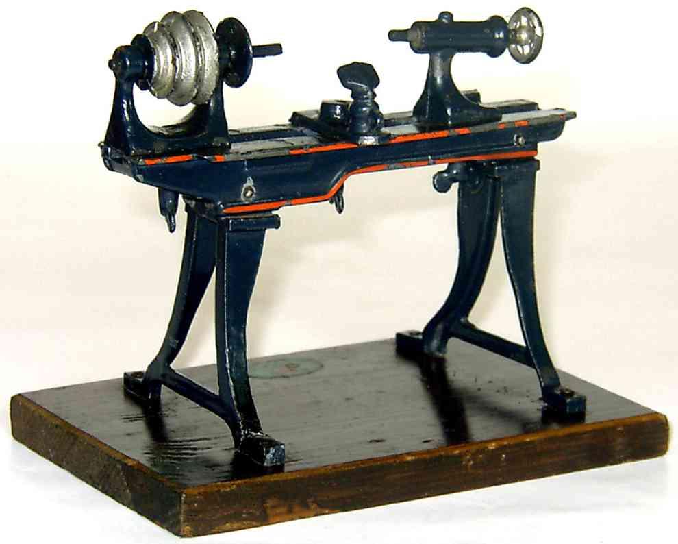 doll 607 steam toy drive model lathe dark blue