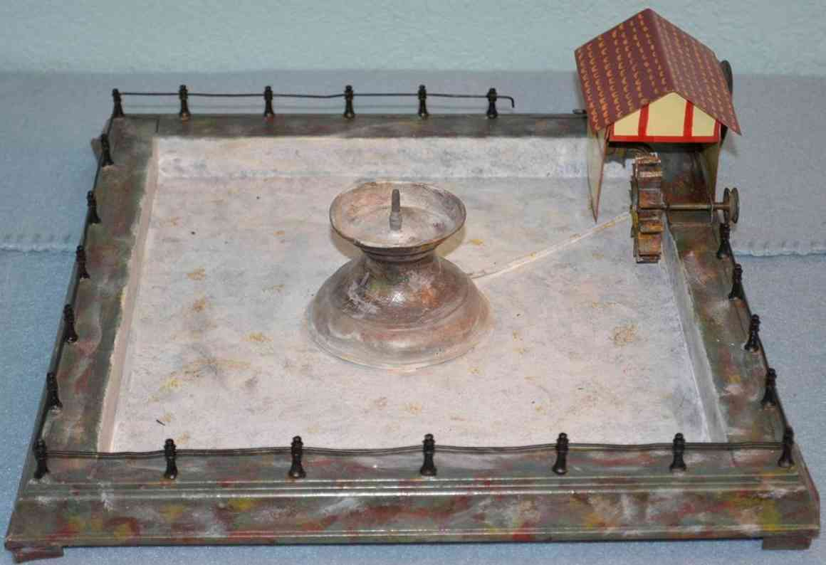 doll 610/3 steam toy drive model water fountain with house