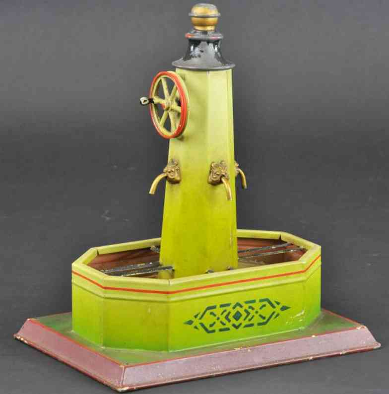 doll 627/3 steam toy drive model fountain