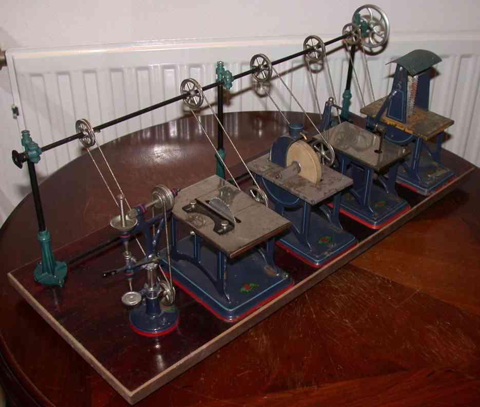 doll 657 antriebsmodell werkstatt mit 5 modellen