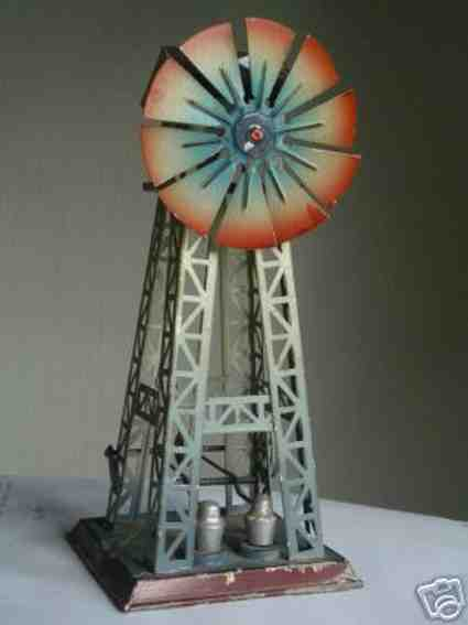 doll 668 steam toy drive model windmill with two trip hammers