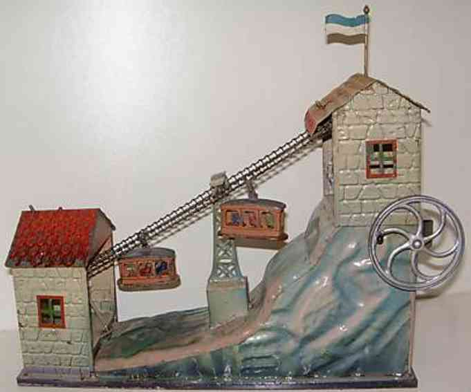 doll 697 steam toy drive model hand-coated mountain railway with 2 cabins