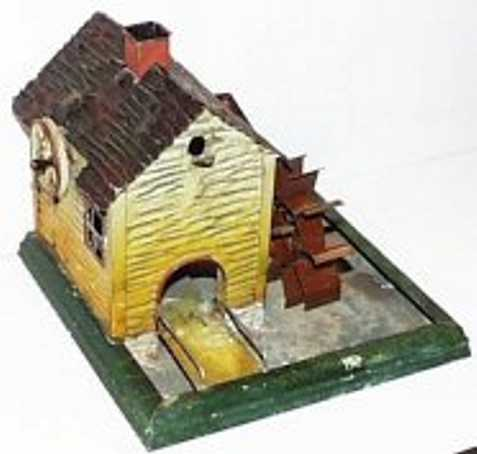 doll 706 steam toy drive model watermill with walkway