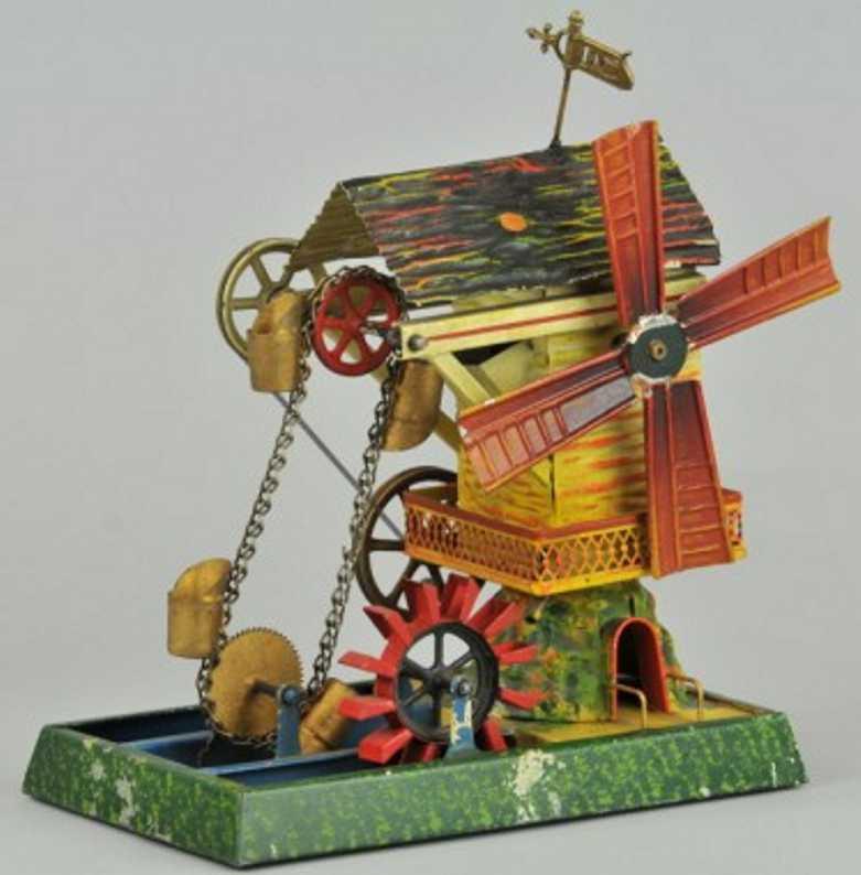 doll 708 steam toy drive model windmill waterwheel