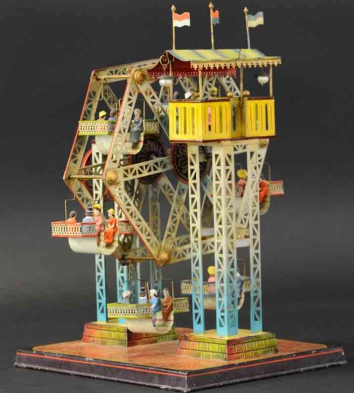 doll 729/5 steam toy drive model ferris wheel