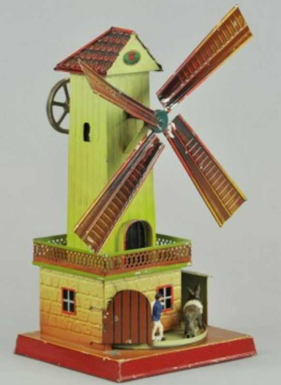 doll 743 steam toy drive model windmill donkey miller
