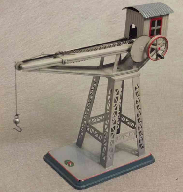 doll 769 steam toy drive model crane is rotatable