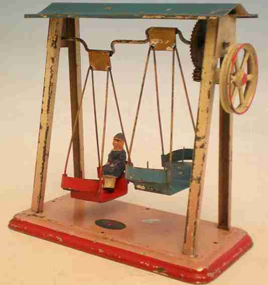 doll 784 steam toy drive model swing ship with three swinging boats