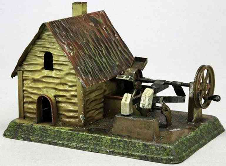 doll 788 steam toy drive model mill with hammer work