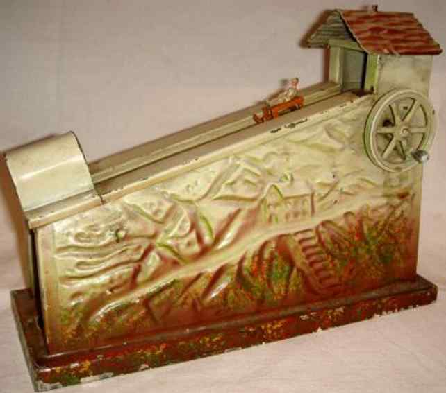 doll 789 steam toy drive model sled railway sledge