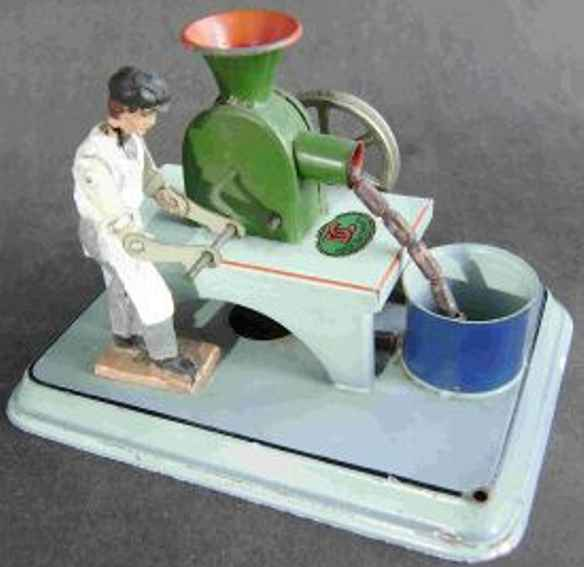 doll 910 dampfspielzeug antriebsmodell wurstmacher fleischmann