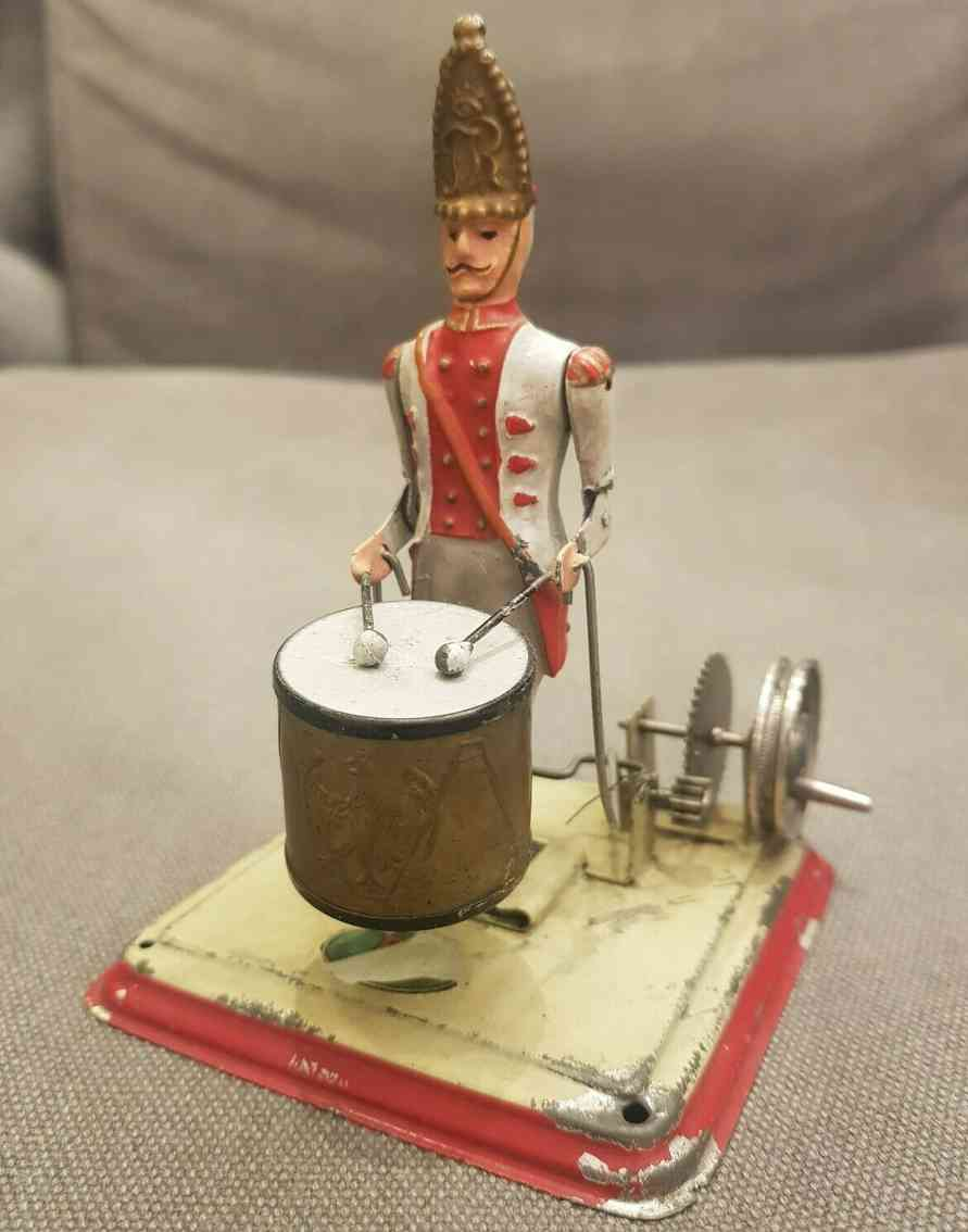 doll 912 steam toy drive model drummer with drum
