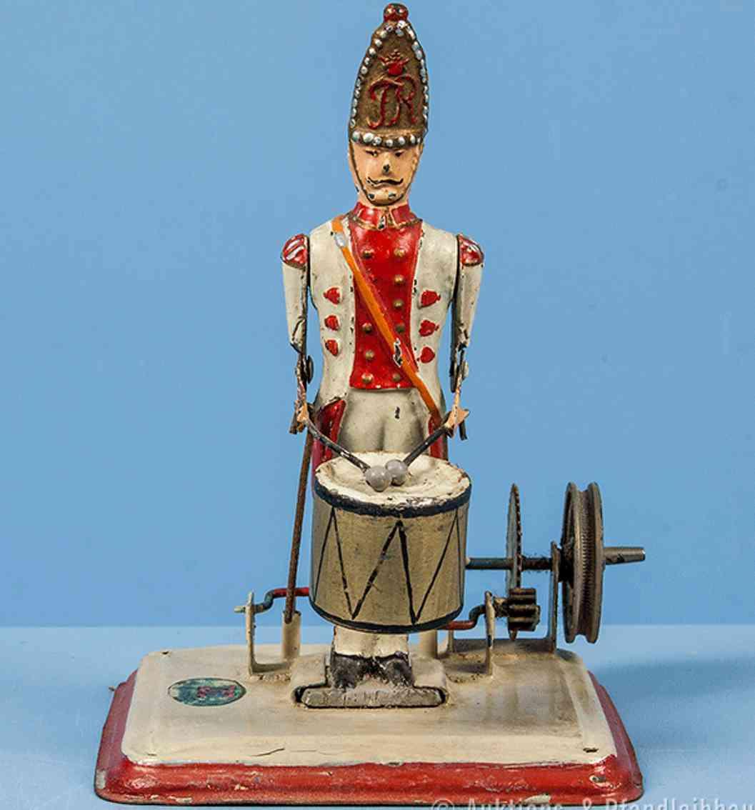 doll 912 dampfspielzeug antriebsmodell trommler mit trommel
