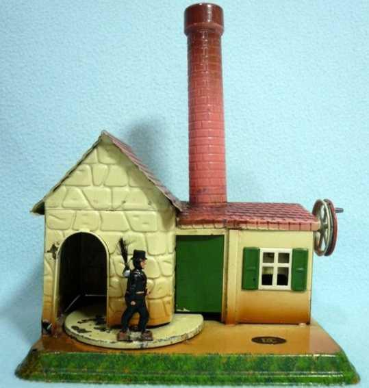 doll 962 steam toy drive model chimney whisk broom chimneysweep