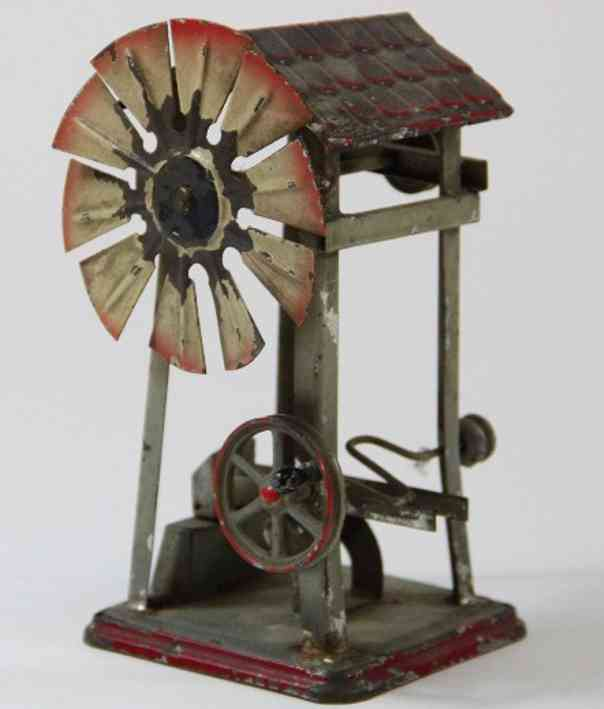 doll 968 steam toy drive model windmill with trip hammer